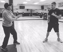 Conor McGregor better watch out - Nate Diaz has been training with Jean-Claude Van Damme