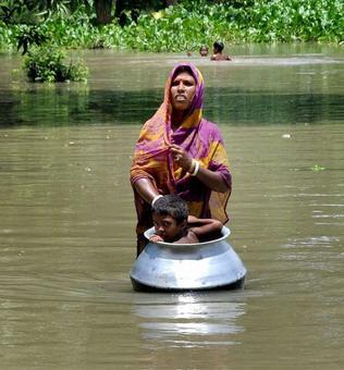 26 killed, 1,096 villages under water in Assam floods
