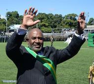 Assoumani sworn in as President of the Comoros archipelago islands
