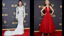 In Pics | Emmys 2017: From Priyanka Chopra to Nicole Kidman, stars experiment with glamorous looks on red carpet