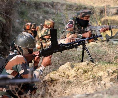 Pakistan violates ceasefire, shells border areas in Rajouri