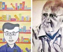 A for art: My teacher, my hero