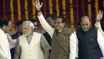 Chouhan aims to make MP free of corruption and poverty by 2022