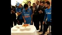 Watch | Have your wickets and cake too: When Team India celebrated Yuzvendra Chahal's match-winning feat