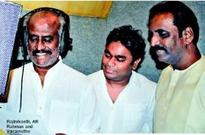 Rajinikanth sings his first Hindi song for Rahman