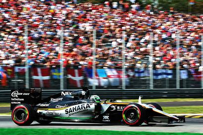 F1: Force India record double points finish