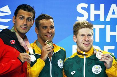 CWG: Le Clos bid for medal record falls short, this time