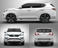 SsangYong LIV-2 previews the next-generation Rexton