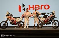 Dakar experience at CIT Jaipur by Hero MotoSports team rally