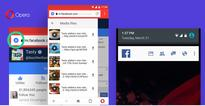 Opera Mini for Android Download manager gets automatic music and video scanning, Facebook notification bar and more