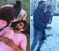 Bollywood Stars and Their Awwdorable Moments with Their Kids