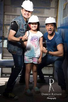 PIX: Farhan Akhtar's fun shoot with Dabboo Ratnani