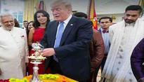 Donald Trump celebrates Diwali, lights diya at White House