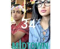 Navya Naveli Nanda catches the Snapchat fever