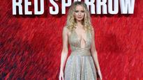 Jennifer Lawrence is not having your criticism over Versace dress at 'Red Sparrow' photocall