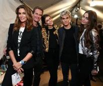 Sons of Cindy Crawford, Yolanda Hadid make their runway debuts