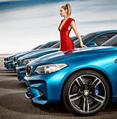 The BMW M2 and Gigi Hadid