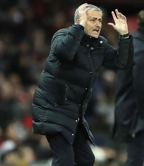 United win but boss Mourinho is miffed...