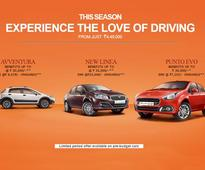 Fiat India Offering Benefits Up To Rs. 1 Lakh For April