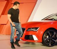 Salman Khans Sporty Audi RS7