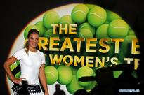 WTA Finals singles draw ceremony held in Singapore