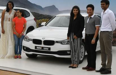 'Did Sachin T pay for the BMWs he 'gave away' to Rio athletes?'
