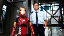 Iron Boy, aka Domenic Pace, defeats Ultron to save Sydney