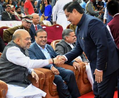 Conrad Sangma sworn-in as Meghalaya CM