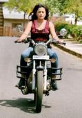 Nidhi Subbaiah finds riding a bike therapeutic