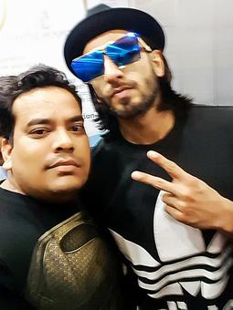 Spotted: Ranveer Singh