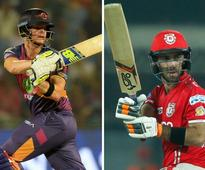IPL 2017 Live RPS vs KXIP in Pune, cricket score and updates: Pune win the toss and elect to field