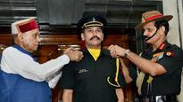 My dream of becoming part of the Indian Army is fulfilled today: 'Lieutenant' Anurag Thakur