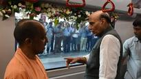 UP: Adityanath, Rajnath jointly flag off Lucknow Metro, services open to public from Aug 6