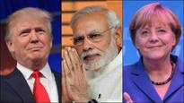 Trump calls to congratulate PM Modi & Germany's Angela Merkel on recent election victories