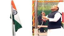Republic Day: Rajnath Singh unfurls tricolor at residence