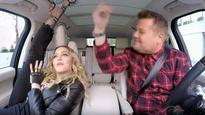Madonna Twerks, Vogues and Talks Kissing Michael Jackson in Full Carpool Karaoke (Watch)