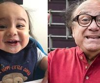 Shannon Bihamta shares photo of son Logan who looks like a young Danny DeVito