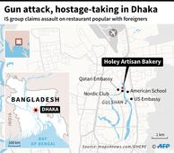 Gunmen storm Dhaka cafe, take diners hostage