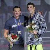 Phelps triumphs over Lochte in 200-meter IM at U.S. Olympic Trials