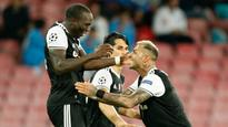 Napoli 2 Besiktas 3: Aboubakar double earns crucial away for Turkish champions