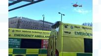 Elderly man falls 20ft from ladder in Dudley
