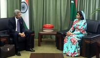 Maldives pres secures India's support