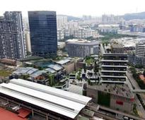Making Jurong district a viable second CBD