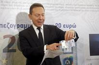 Greek central bank chief says no friction with government