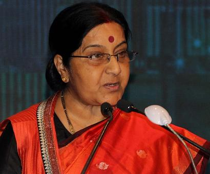 Would've suspended you: Sushma tells man requesting for wife's transfer