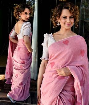 StyleDiaries: Kangana's pink sari vs Malaika's cutout dress