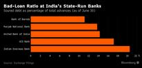 Bank With No CEO and 20% Bad Loans Shows Challenge for Modi