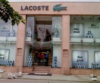 French clothing brand Lacoste's India licence on sale: Report