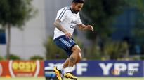 Football: Lavezzi returns to Argentina squad after Dybala injury