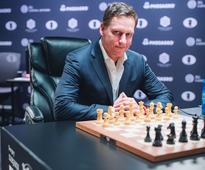 Peter Thiel made a rare public appearance at a chess tournament